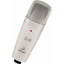 Microfone Behringer C-3 Condensador - Original Com Garantia