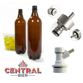 Set Carbonatación En Botella Pet, Cerveza Artesanal