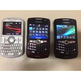 03 Aparelhos Nextel Smartphone Blackberry E Motorola