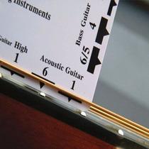 Régua Luthier Simples Altura Cordas Guitarra Baixo Violão