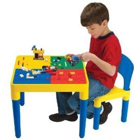 Niños Sólo Bloque Constructores Tabla De Construcción Con 1