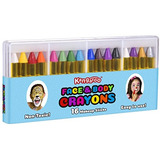 Pintura Y La Cara De Canguro Crayones Cuerpo - 16 Colores -