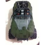 Vehiculo Halo Con 3 Soldados