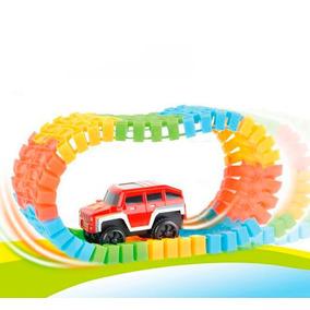 Kit 3 Trilha Maluca Carro Eletrico Pista Brinquedo Crianç