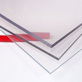 Placa Símil Acrílico Cristal Transparente Varias Medidas