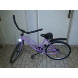 Bicicleta Playera Rodado 24 Adultos