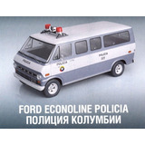 Ford Van Camioneta Policia Carros Queridos Colombia 1/43