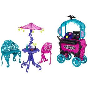 Monster High Scaris Cafe Cart Jugueteria Bunny Toys