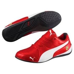 Tenis Puma Ferrari Drift Cat 7 Rojo Y Blanco Original Future