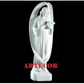Arcangel, Angel, Imágenes Religiosas, Estatuas, Cemento