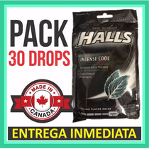 Pastillas Halls Negras * Pack Con 30