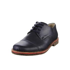 Zapato Acordonado Con Puntera