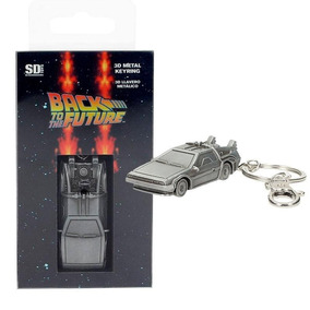 Chaveiro Delorean Back To The Future Metal Keychain Sdtoys