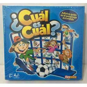Juego Cual Es Cual Toymax Adivina Quien Nuevo 16015 Bigshop