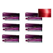 Kit 6 Unidades Coloração Color Intensy 0.6 Vermelho Amend