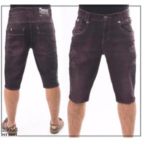 Bermuda Pit Bull Jeans Masculina Ref 23053