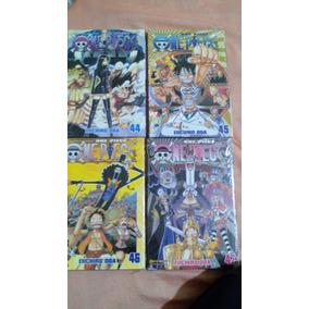 Mangá One Piece - Volumes 44,45,46 E 47 Valor Unitario