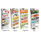 Tech Deck Patinetas Skate Coleccionables Dedos Pack 4