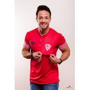 Camiseta De Viagem São Luiz Vermelha/branca