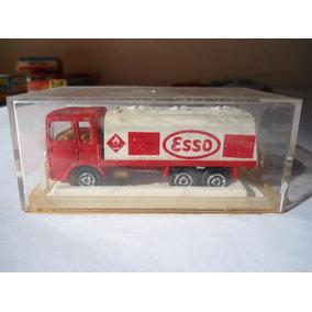 Camión Majorette Cisterna Esso - 69140 - Made In Francia