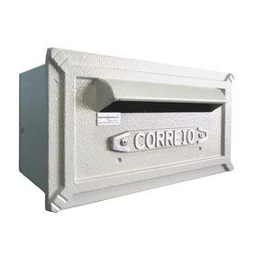 Caixa De Correio Alumínio Turquesa - Prates & Barbosa