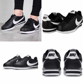 check out 95302 87941 spain tenis nike cortez negro piel .2.5 3 3.5 4 4.5 5 2f16d 4d721