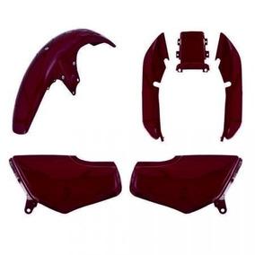 Kit Plástico Carenagem P Titan Cg 125 Ano 1998 1999 Vermelho