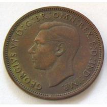 Gran Bretaña 1/2 Penny Año 1937 Rey Georg Vl