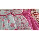 Vestido De Beba-nena Talle 1-5. Con Lazo