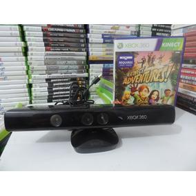 Sensor Kinect + 2 Jogo Original Para Xbox 360 Sem Caixa