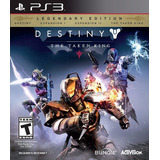 Destiny: The Taken King (legendary Edition) - Ps3 Sellado