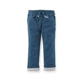 Calça Moletom Forrada / Jeans Preta - Carters Menina