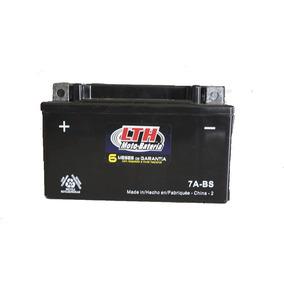 Bateria De Moto Lth Para Italika Vento Honda Ctx7a-bs