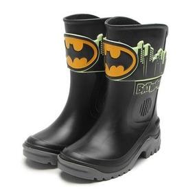 Bota Galocha Infantil Batman Brilha No Escuro - Grendene