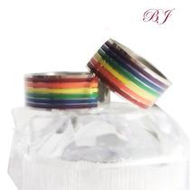 Argollas Nombres Grabados Amor Novios Arcoiris Lgvt Gay