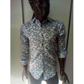 Camisa Casual De Manga Larga Para Hombre