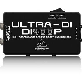 Direct Box Passivo Behringer Ultra Di400
