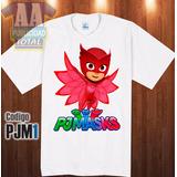 Franelas Heroes En Pijamas Disney
