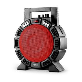 Caixa De Som Portátil Bluetooth Potente Com Controle Remoto