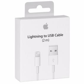 Cable Cargador Iphone 5 6 7 8 Plus X Ipad Lightning 2 Metros