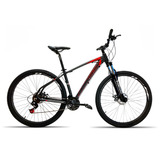 Bicicleta 29 High One 27v Kit Shimano Alivio Pt Vermelho T17