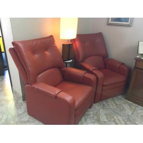 Par De Poltronas Reclináveis - Cadeira Do Papai