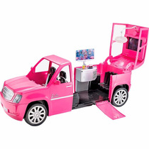Barbie Rock And Royals Carro Limousine Cabem 6 Bonecas