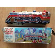 Locomotora Tren Lámina Baterías Japón Caja Modern Toys .