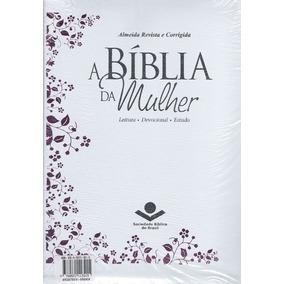 Bíblia De Estudo Da Mulher Grande Capa Couro Bonded Cód. 199