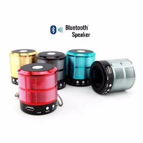 Mini Caixa Som 5w Bluetooth Wireless Mp3 Fm Sd Usb Pc