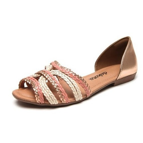 Sandalia Baja Dakota Colores Con Tiras Confort Casual Nuevo