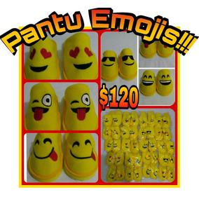 Pantuflas Con Diseños Divertidos De Los Emojis
