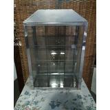 Caramelera Exhibidor De Vidrio Con 4 Estantes