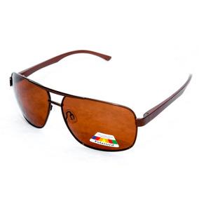 Óculos De Sol Quadrado Masculino Polarizado Uva E Uvb